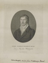 Bildnis des Georg Wilhelm Friedrich Hegel Friedrich Wilhelm Bollinger - Verlagsort- Berlin - 1801_1825 - Nürnberg, Germanisches Nationalmuseum, Graphische Sammlung
