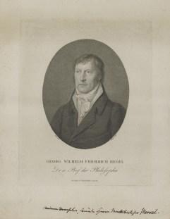 Bildnis des Georg Wilhelm Friedrich Hegel Friedrich Wilhelm Bollinger - Verlagsort- Berlin - 1801_1825 - Nürnberg, Germanisches Nationalmuseum