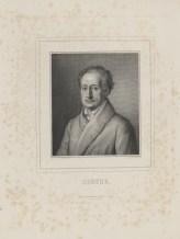 Bildnis des Goethe Lazarus Gottlieb Sichling - Breitkopf & Härtel - Verlagsort- Leipzig - 1840_1860 - Halberstadt, Gleimhaus