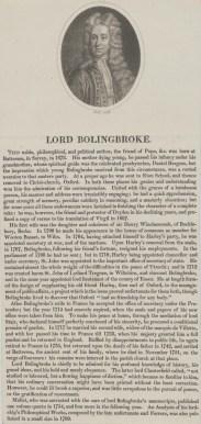 Bildnis des Henry St. John Bolingbroke Thomas Holloway (ungesichert) - nach 1760 - Münster, LWL-Museum für Kunst und Kultur