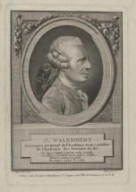 Bildnis des J. D' Alembert André Pujos - Esnauts et Rapilly - Verlagsort- Paris - 1774_1797 - Berlin, Staatsbibliothek zu Berlin