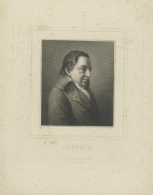 Bildnis des J. G. Fichte Friedrich Bury - F. A. Brockhaus - Verlagsort- Leipzig - nach 1850 - Leipzig, Universitätsbibliothek Leipzig
