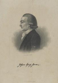 Bildnis des Johann Georg Hamann August Weger - 1838_1892 - Berlin, Staatsbibliothek zu Berlin - Preußischer Kulturbesitz, Handschriftenabteilung
