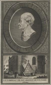 Bildnis des M. F. Arouet de Voltaire - Berlin, Staatsbibliothek zu Berlin - Preußischer Kulturbesitz, Handschriftenabteilung