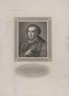 Bildnis des Moses Mendelssohn - Berlin, Staatsbibliothek zu Berlin