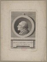 Bildnis des Moses Mendelssohn Peter Haas - 1786_1804 - Berlin, Staatsbibliothek zu Berlin