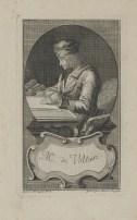 Bildnis des Voltaire Joseph Friedrich Rein - faktischer Entstehungsort- Augsburg - 1778_1785 - Nürnberg, Germanisches Nationalmuseum, Graphische Sammlung