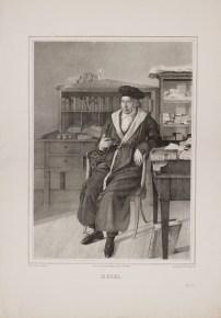 Bildnis Georg Wilhelm Friedrich Hegel Julius Ludwig Sebbers - Sachse, L., & Co. - Verlagsort- Berlin - Wolfenbüttel, Herzog August Bibliothek