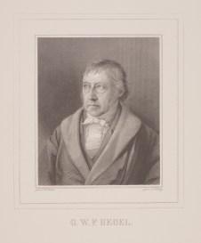 Bildnis Georg Wilhelm Friedrich Hegel Julius Ludwig Sebbers - Wolfenbüttel, Herzog August Bibliothek
