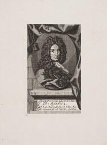 Bildnis Gottfried Wilhelm Leibniz Johann Gottfried Renger - Verlagsort- Halle (Saale) - 1718 - Wolfenbüttel, Herzog August Bibliothek