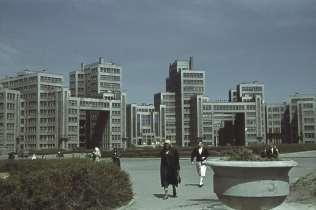 Здание Госпрома в оккупированном Харькове