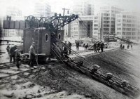 Строительство Госпрома 1928,