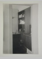 Gruntal, V.G. Interior view of Nikolai Milutin's apartment showing the built-in kitchen, People's Commissariat for Finance (Narkomfin) Apartment Building, 25 Novinskii Boulevard, Moscow, after 1930