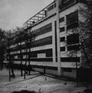 Robert Byron Narkomfin apartments Moscow, USSR Architects: Moisei Ginzburg and Ignatii Milinis (1928-1929) Type: A-negative
