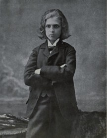 René Fülöp-Miller, age 14