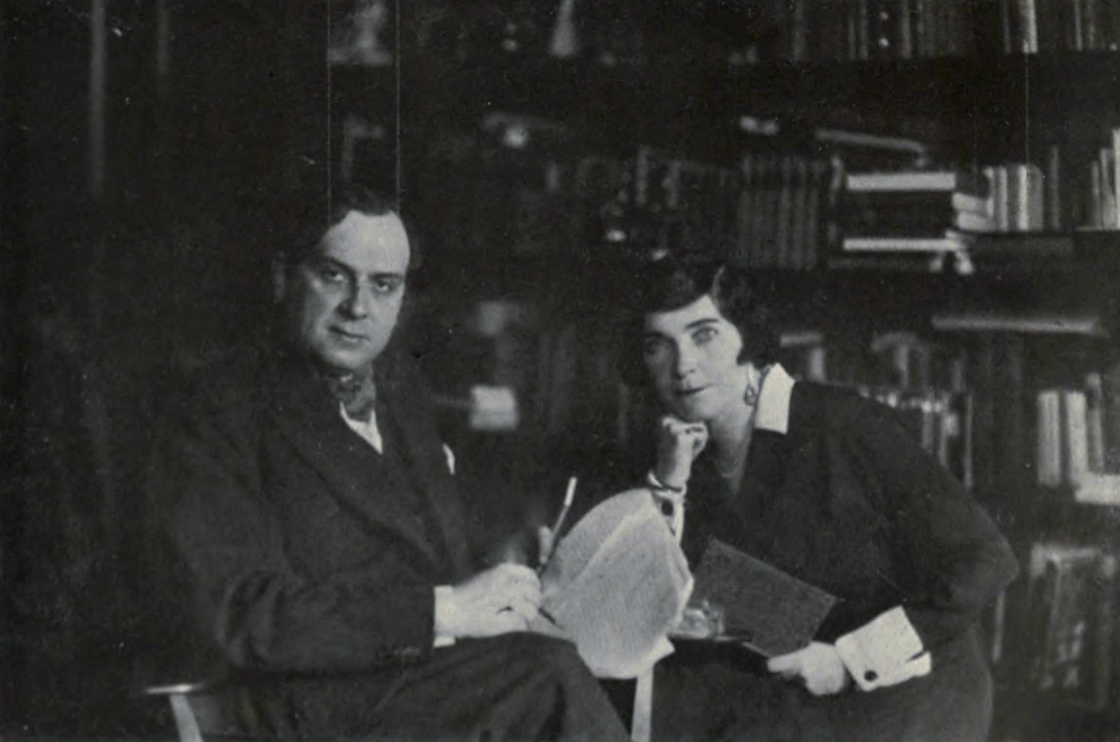 René Fülöp-Miller and his wife