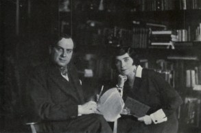 René Fülöp-Miller and his wife