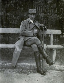 René Fülöp-Miller in military uniform during the war (he later joined in opposition to the war effort)