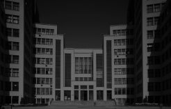 Sergei Serafimov, Mark Felger, and Samuil Kravets's Gosprom Building (1925)