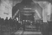 """THE PRIVATE CHAPEL OF THE """"TROITSKOE PODVORE"""" (Church of the Trinity) TRANSFORMED INTO AN ATHEIST'S CLUB"""