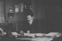 TROTSKI IN HIS STUDY