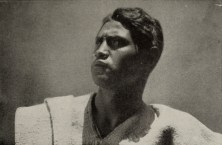 Closeup of Martin Hernandez, the Mexican-Indian