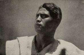 Closeup of Martin Hernandez, the Mexican-Indian