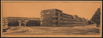 Hans Poelzig (1869-1936) Berufs- und Fachschule, Berlin-Charlottenburg (1927)