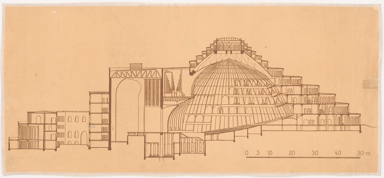 Hans Poelzig (1869-1936) Festspielhaus Salzburg (1920-1922)b