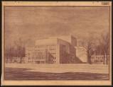 Hans Poelzig (1869-1936) Friedrich-Theater, Dessau (1935)c