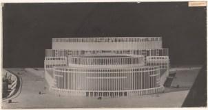 Hans Poelzig (1869-1936) Palast der Sowjets, Moskau (1931)c