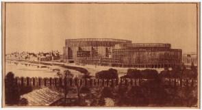 Hans Poelzig (1869-1936) Palast der Sowjets, Moskau (1931)g