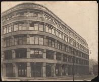 Hans Poelzig Geschäftshaus Junkernstraße, Breslau Ansicht von der Straße (1911)