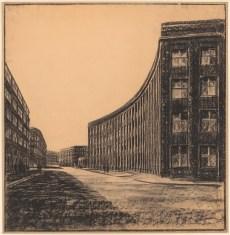 Hans Poelzig Neugestaltung der Umgebung des Bülowplatzes (Scheunenviertel), Berlin. Lichtspielhaus Babylon und Wohnungsbauten (1927-1929)b
