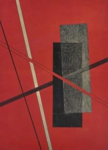 László Moholy-Nagy (1895-1946) Pl. 6, from Konstruktionen - Kestnermappe 6