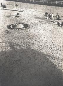 László Moholy-Nagy, American, born Hungary, Borsod, Austria-Hungary [now Bácsbarsod, Hungary], 1894-1946, Chicago, Illinois Title Sand Architects, No. 2 Work Type photograph Date 1929 Material gelatin silver print 11 1_2 in. x 8 1_4 in