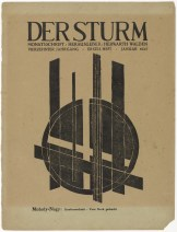 László Moholy-Nagy Untitled (Composition) (ohne Titel (Komposition)) from the periodical Der Sturm, vol. 13, no. 1 (Jan 1923) 1923