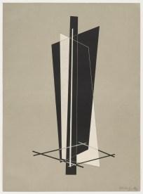 László Moholy-Nagy Untitled from Konstruktionen. Kestnermappe 6 (Constructions. Kestner Portfolio 6) 1923 d