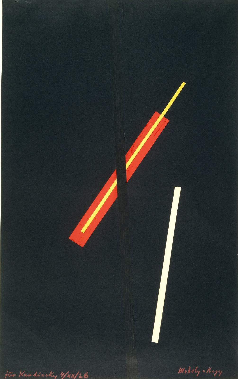 Laszlo Moholy-Nagy, Sans titre, [1923] Reproduction of a work for Kandinsky