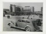 Meyer, Hannes Exterior view of the Palace of the Azerbaijan Press from across Nizami Square, Baku, Soviet Union (now in Azerbaijan), 1932-1954