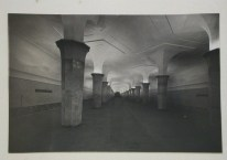 Meyer, Hannes Interior view of Dvorets Sovietov (Palace of Unions) subway station platform, Moscow, 1935-1954