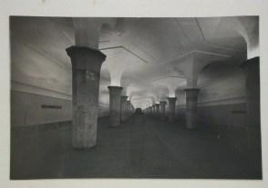 Meyer, Hannes Interior view of Dvorets Sovietov (Palace of Unions) subway station platform, Moscow, 1935-1954