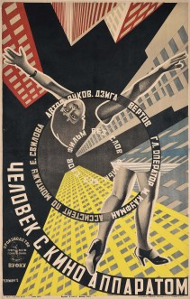 Stenberg Brothers (Vladimir, 1899-1982; Georgi, 1900-1933) THE MAN WITH THE MOVIE CAMERA