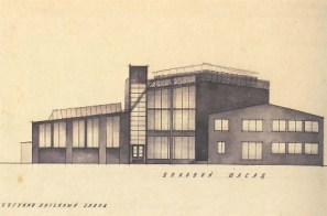 A. Fisenko. Cast Iron Foundry. Sketch. 1925