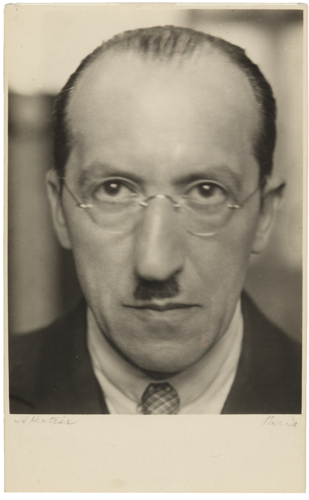 André Kertész Mondrian 1926 Gelatin silver print Print Date 1926–c. 1928