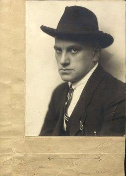 Маяковский. Берлин. 1922