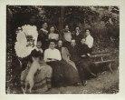 Семья Маяковских с друзьями и знакомыми. Петровско-Разумовское. 1908