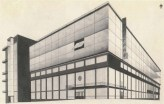 G. Vegman. Telegraph Office in Moscow. Competition project. 1925. Photos