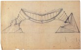 I. Lamtsov. N. Ladovsky's workshop Beam. Revelation of structure. Study. 1922