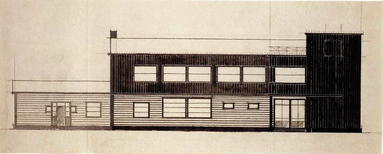 K. Knyazev. Post and Telegraph Office. Sketches. 1924 a